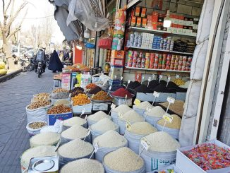 rice price in Iran jumps three times