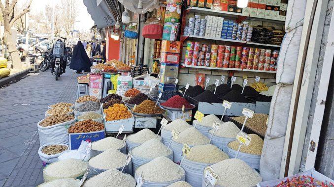 rice price in Iran jumps three times