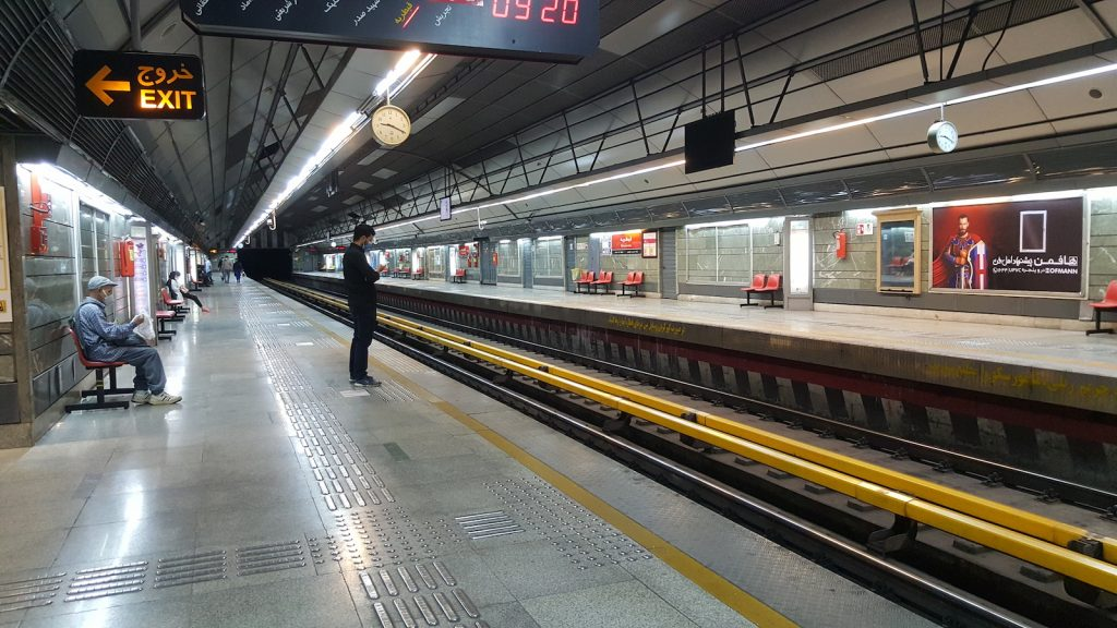 Tehran subway has lost 92% of its ads selling income